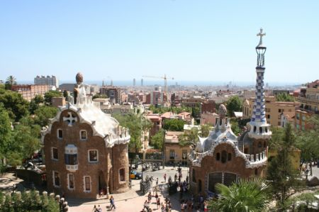 PARK GUELL BARCELLONA Spagna